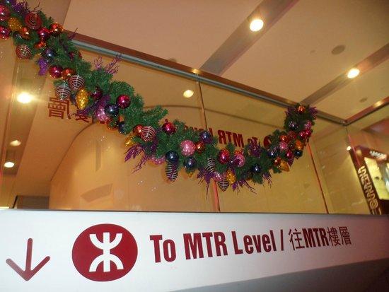 iSQUARE: MTR entrance