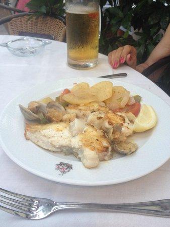 La Santa Maria: Grilled monkfish