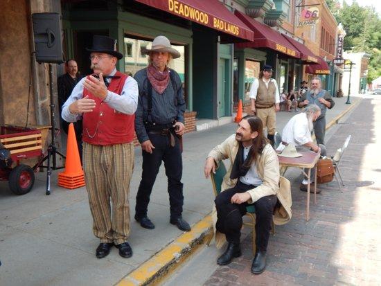 Deadwood Alive: THE BOYS! WILD BILL TOO!