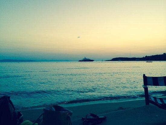 Astir Beach : sunset