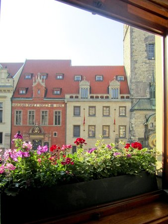 Grand Hotel Praha: View from our room