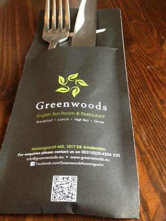 Greenwoods Singel: keurig bestek