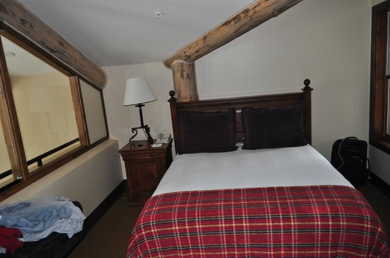 Teton Mountain Lodge & Spa - A Noble House Resort: Loft Bedroom