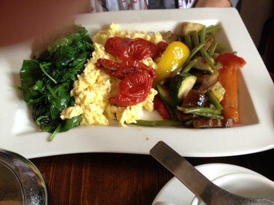 Greenwoods Singel: en het (forse) Veggie Breakfast