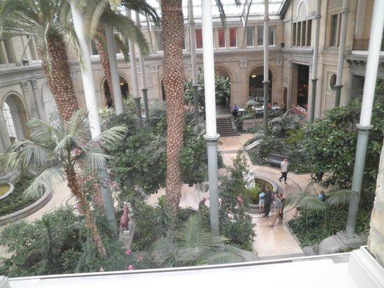 Gliptoteca Ny Carlsberg: Vista del giardino