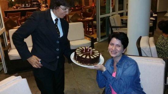 Jardines de Nivaria - Adrian Hoteles: My birthday cake