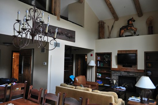 Teton Mountain Lodge & Spa - A Noble House Resort: Living Room