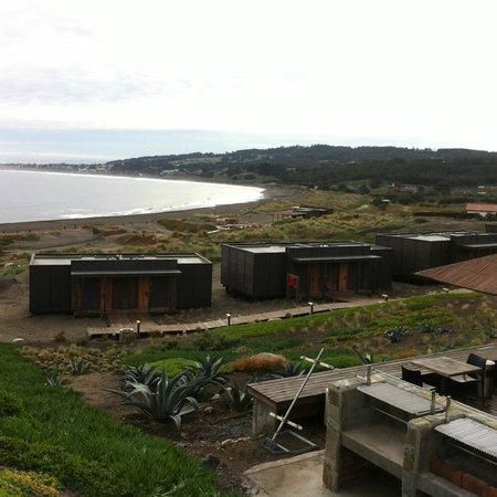 Hotel Alaia - Punta de Lobos: Vista de las habitaciones -