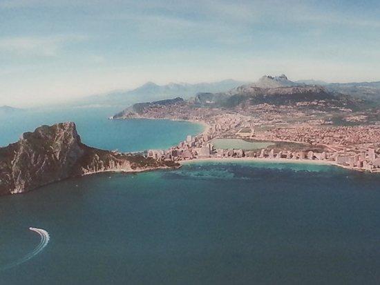 Playa de la Fossa o Levante : aerea
