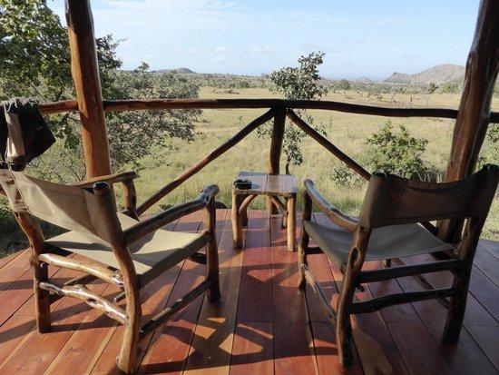 Campi ya Kanzi : Best view of the trip !