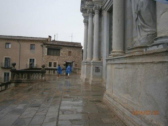 Catedral de Girona: Всё из камня