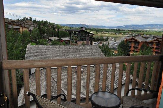Teton Mountain Lodge & Spa - A Noble House Resort: Shared Balcony