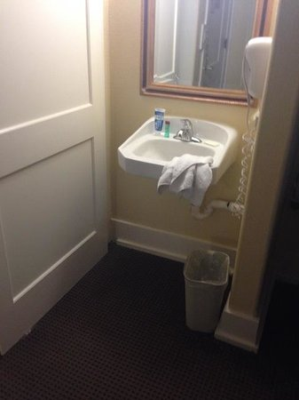 Ramada Gaslamp Convention Center: in room sink