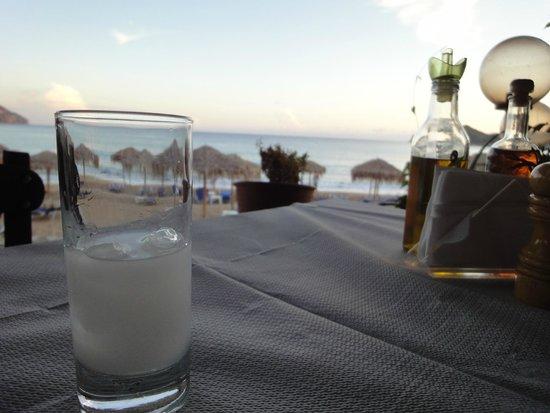 Delfini Taverna : Greek Ouzo