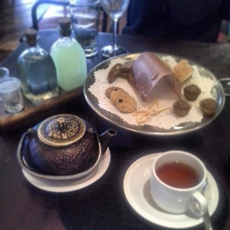 Cabaña Las Lilas: Thé gourmand