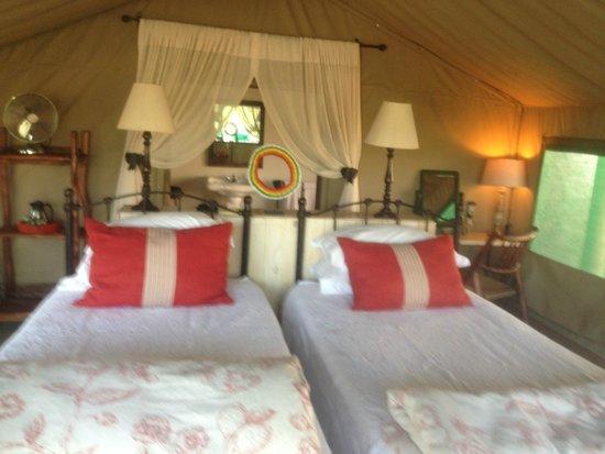 Tanda Tula Safari Camp: our tent