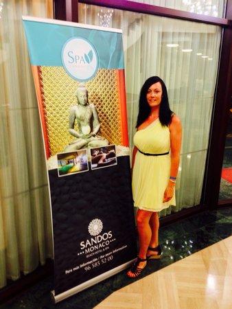 Sandos Monaco Beach Hotel & Spa: The Wife