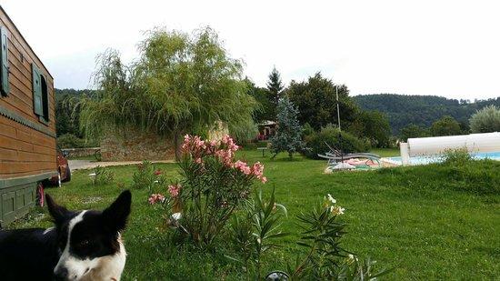 Le Mas de Bouilhac : La Roulotte