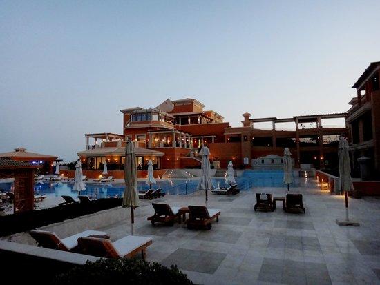 The Westin Soma Bay Golf Resort & Spa: Hotel at sunset