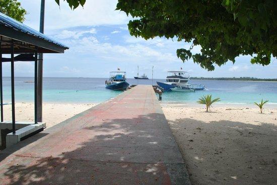 Meemu Atoll: jetty