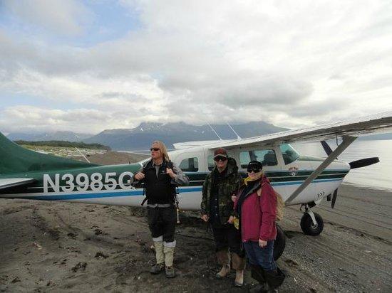 Sasquatch Alaska Adventure Co: All ready to go see the bears!