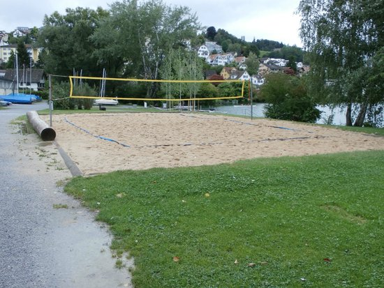 Horn Richterswil: Volleyball area