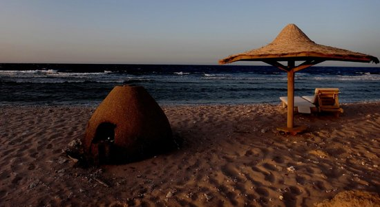 """The Westin Soma Bay Golf Resort & Spa: """"Wild"""" beach for relax only near by the hotel"""