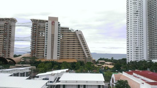 Prima Villa Hotel: Вид на море из главного корпуса