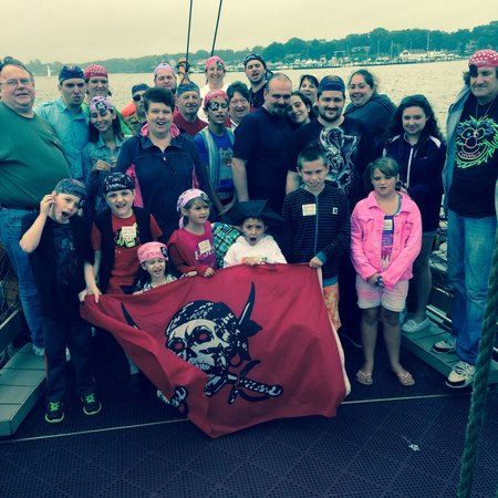 Jersey Shore Pirates : Leo's 6 th birthday party had a great time