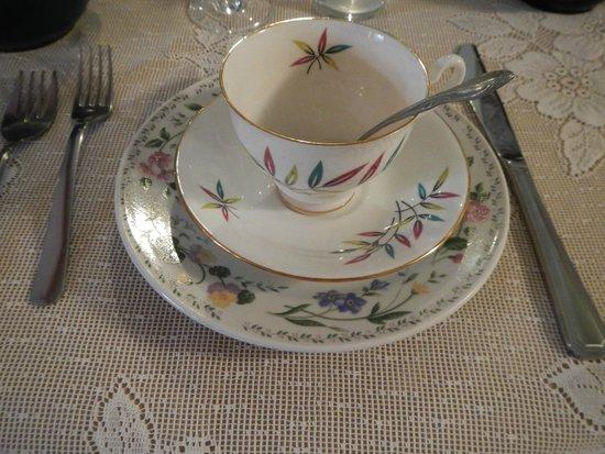 Wildflowers Tea Room: Tea Set