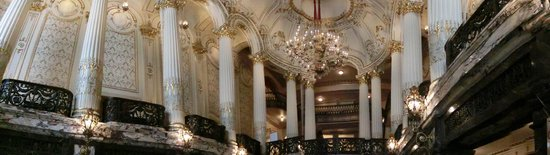Heinz Hall: Looking up from downstairs lobby.