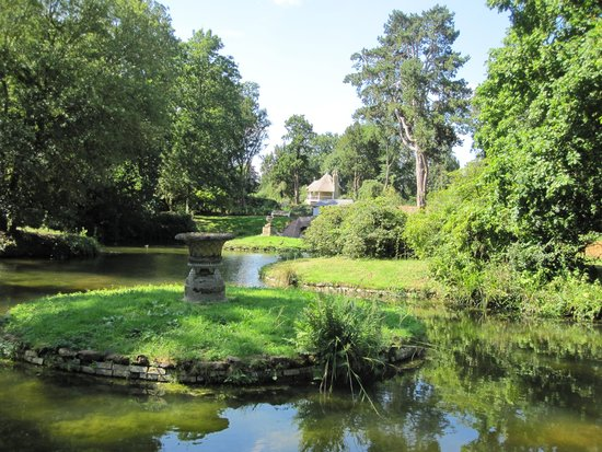 Biggleswade, UK: View in the Swiss Garden