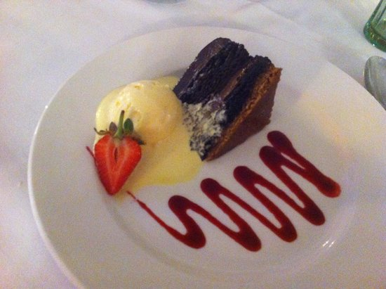 Belstead Brook Muthu Hotel: To die for - Belgian chocolate