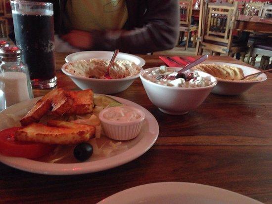 Hanam's Middle East Restaurant : More than tasty mezze starter.