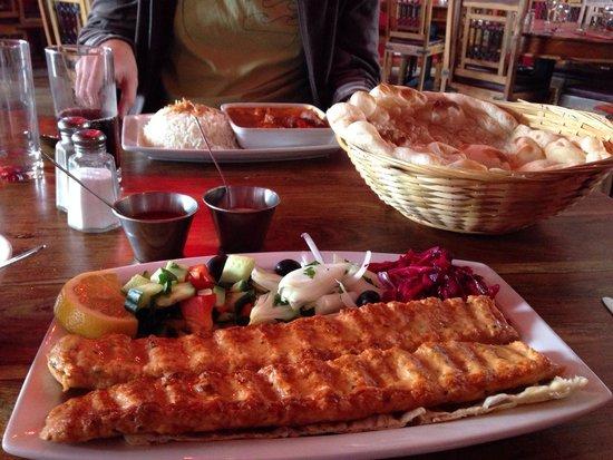 Hanam's Middle East Restaurant : Stunningly tasty.