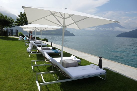 Pool Terrasse Hotel Guests Only Picture Of Park Hotel Vitznau