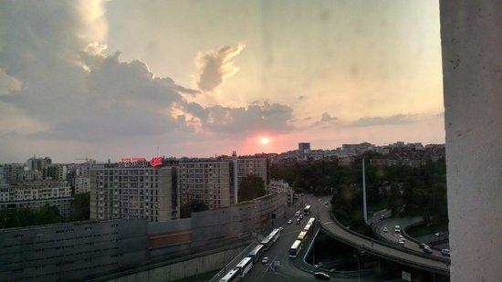 Novotel Paris Est : Vista do 14º andar