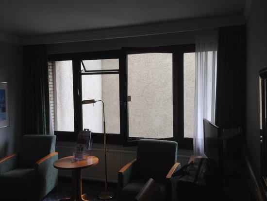 Leonardo Hotel Hannover: Zimmerausblick