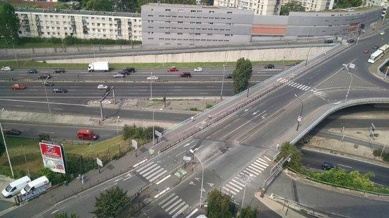 Novotel Paris Est: Vista do apartamento - 14º andar