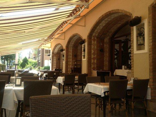 Club Anastasia: restaurant