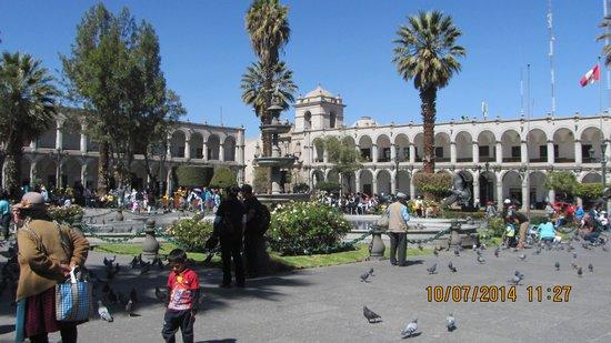 Historic Centre of Arequipa: Praça das Armas