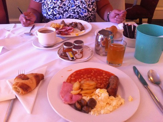 Muthu Belstead Brook Hotel: Cooked breakfast