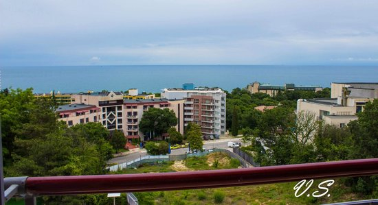 DoubleTree by Hilton Varna - Golden Sands: sea view