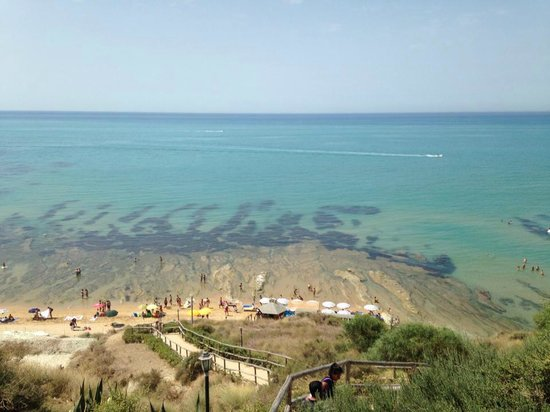 Scala dei Turchi: view from above