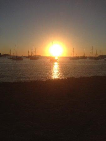 Intertur Hotel Hawaii Ibiza : Sun Set outside hotel