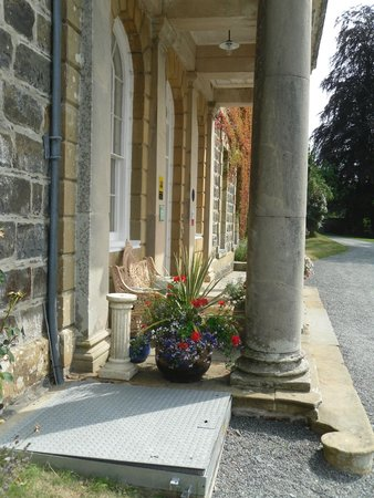 Nanteos Mansion : The front door