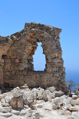 Monolithos Castle: vers l'infini