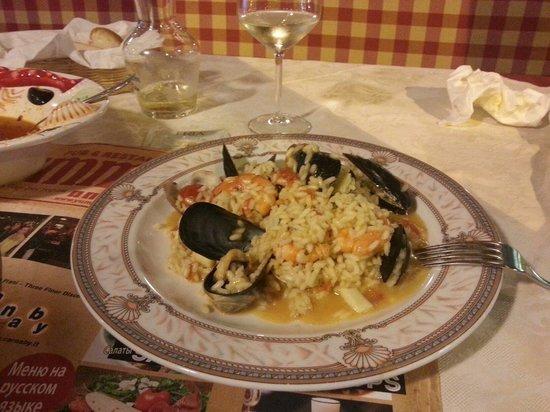 Yummy : Ризотто с морепродуктами