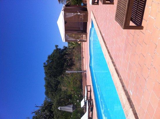 Finca Son Jorbo: Poolside under clear blue skies