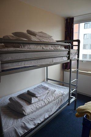Euro Hostel Glasgow : Camera doppia